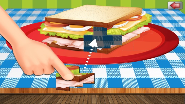 A Food Puzzle For Preschoolers screenshot-1