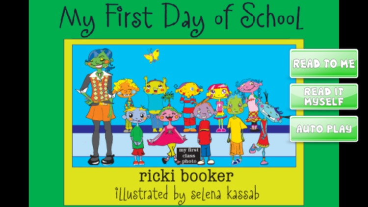 iStoryTime Kids Book- My First Day of School