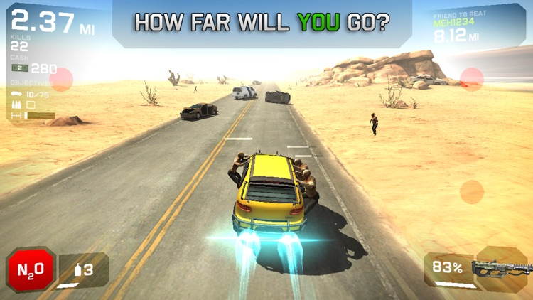 Zombie Highway 2 screenshot-1