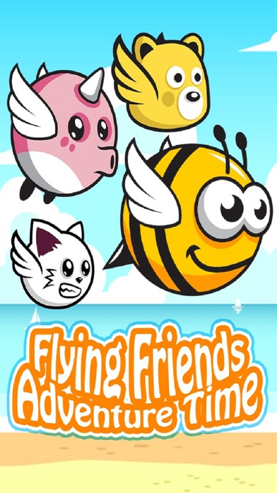 Flying Friends Adventure Time screenshot one