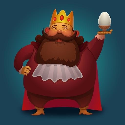Яичко - доставьте яйцо королю к завтраку!