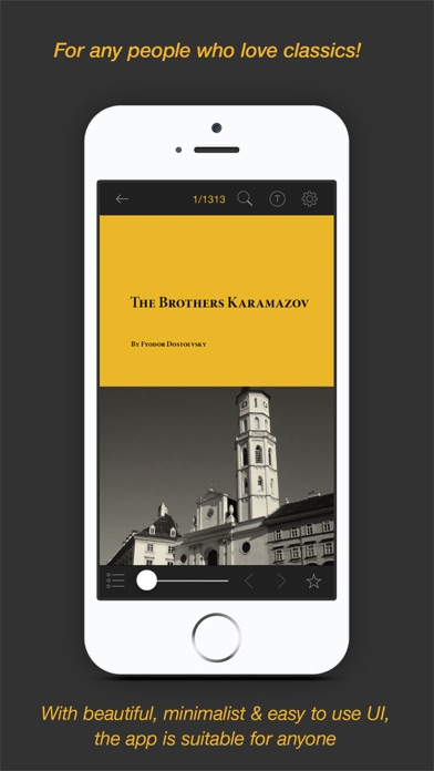 Screenshot #2 pour Top 80 Classic Books - The free collection of the 80 best classics of all the time
