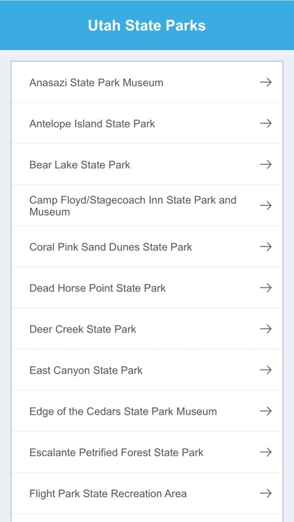 Utah National Parks & State Parks screenshot-1