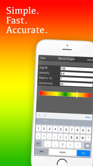Mila's Blood Sugar Conversion Calculatorのおすすめ画像1