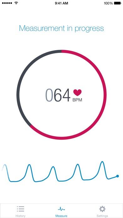 Runtastic Heart Rate PRO Screenshots