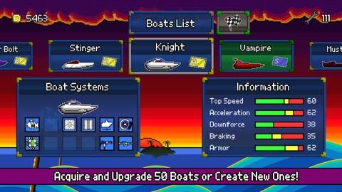 Screenshot #4 for Pixel Boat Rush TV