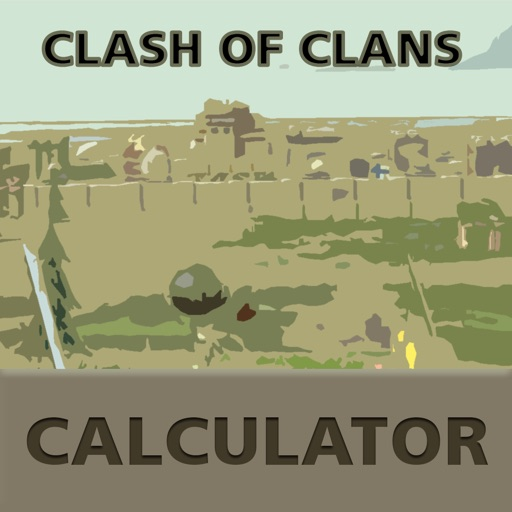 "Calculator for ""Clash of Clans"""