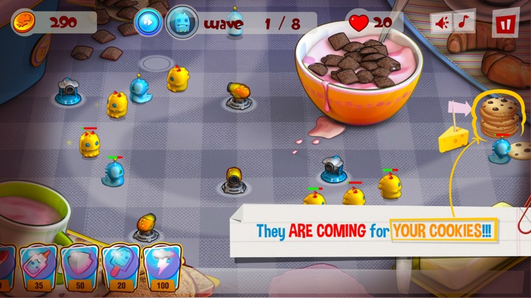 Cookie Gluttons TD screenshot-1