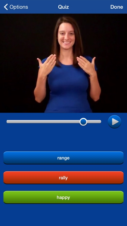 ASL Dictionary HD American Sign Language screenshot-0