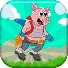 Activities of Jet Pack Pig - Sonic Space Adventure via Jetpack, Rocket or Plane - Piggy Style!
