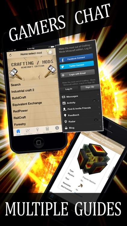Crafting Mods - Minecraft edition screenshot-4