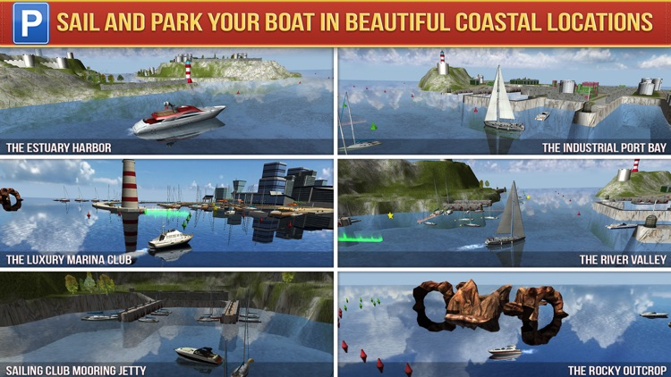 Super Yachts Parking Simulator - Real Boats Race Driving Test Park Racing Games screenshot-3