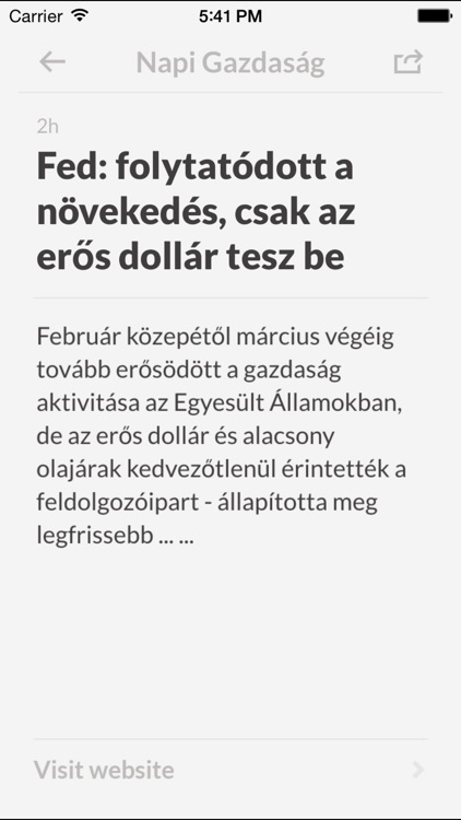 Újság HU screenshot-3