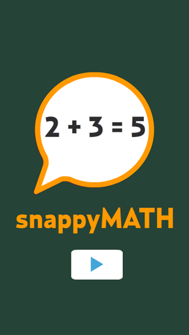 Snappy Maths screenshot one