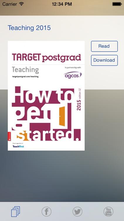 TARGETpostgrad Teaching