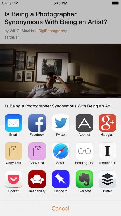 Ziner - RSS Reader that believes in simplicity screenshot-3