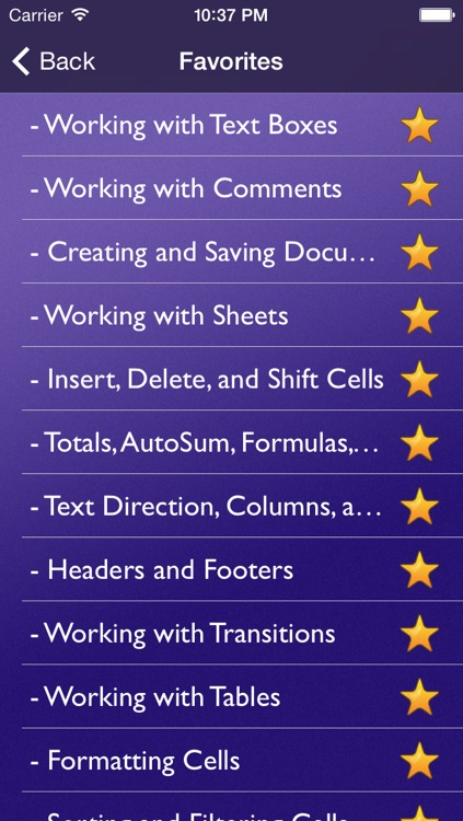 Tutor for Microsoft Office for iPad - Learn Excel, Word, and Powerpoint for iPad screenshot-1
