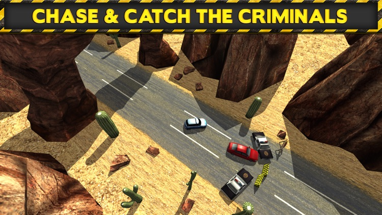 3D Police Drag Racing Driving Simulator Game: Race The Real Turbo Chase screenshot-3