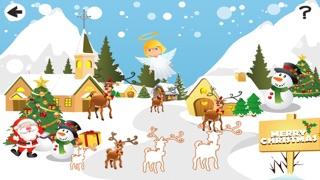 聖誕節兒童遊戲: 學進行比較和排序屏幕截圖3