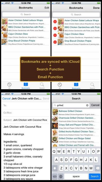 400 Chicken Recipes screenshot-3