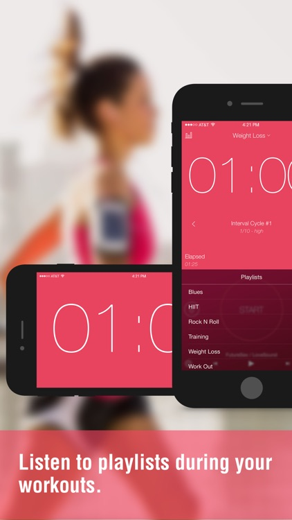 Interval Timer - Timing for HIIT Training and Workouts screenshot-3