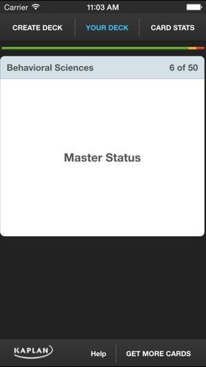 MCAT® Flashcards by Kaplan Test Prep en App Store