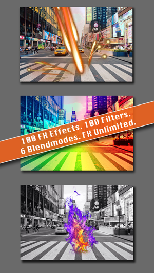‎TwoPics FX - ultimate photoblend editor to union two photo, add effect elements and color filter Screenshot