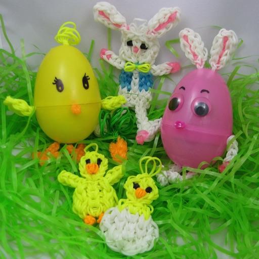 Rainbow Loom - Easter Special