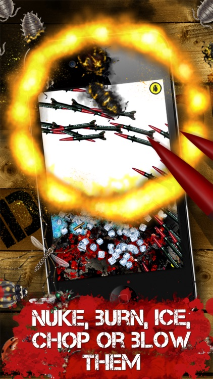 iDestroy Free: Game of bug Fire, Destroy pest before it age! Bring on insect war! screenshot-3
