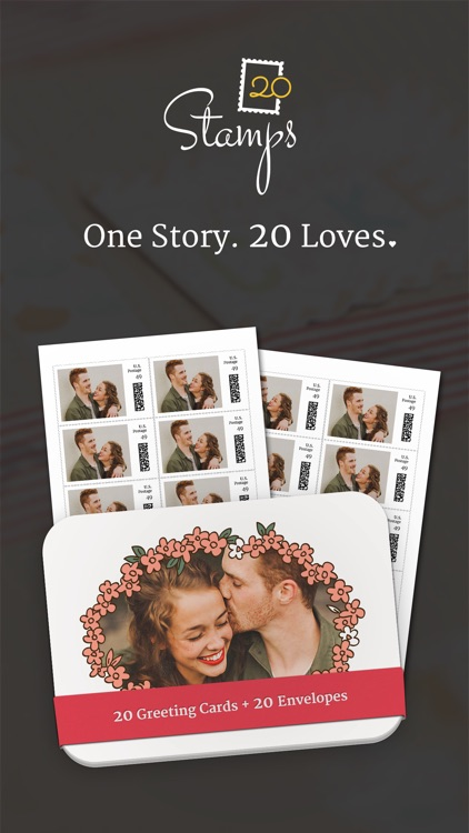 20Stamps - Customize US Postage Stamps & Greeting Cards & Postcards screenshot-4