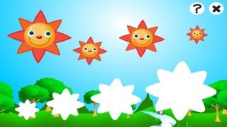 アクティブ! 子どもたちは、太陽、雨、雲と天気について学ぶためのゲームのスクリーンショット1
