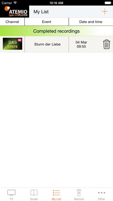 Atemio 4you AirPlayer screenshot four