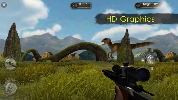 Jurassic Hunt 3D. Best Dinosaur Hunting World Simulator screenshot-4