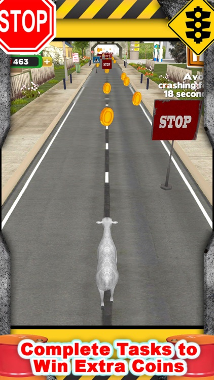 3D Goat Rescue Runner Simulator Game for Boys and Kids FREE screenshot-3