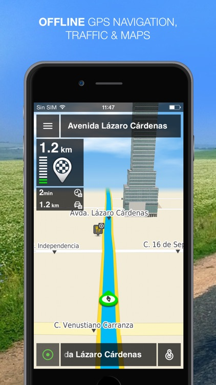 NLife Mexico Premium - Offline GPS Navigation & Maps screenshot-0