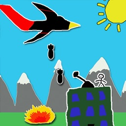 Doodle Bombing stickman war