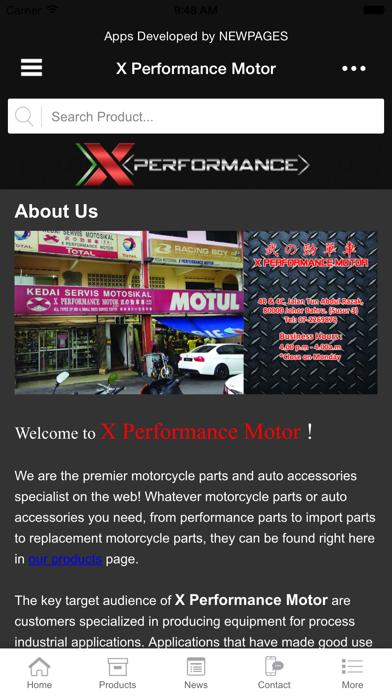 X Performance Motor screenshot three