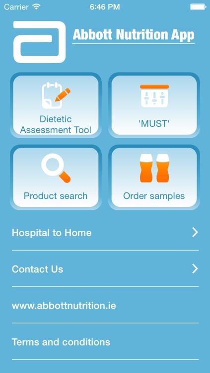 Abbott Nutrition Dietetic Tools screenshot-4