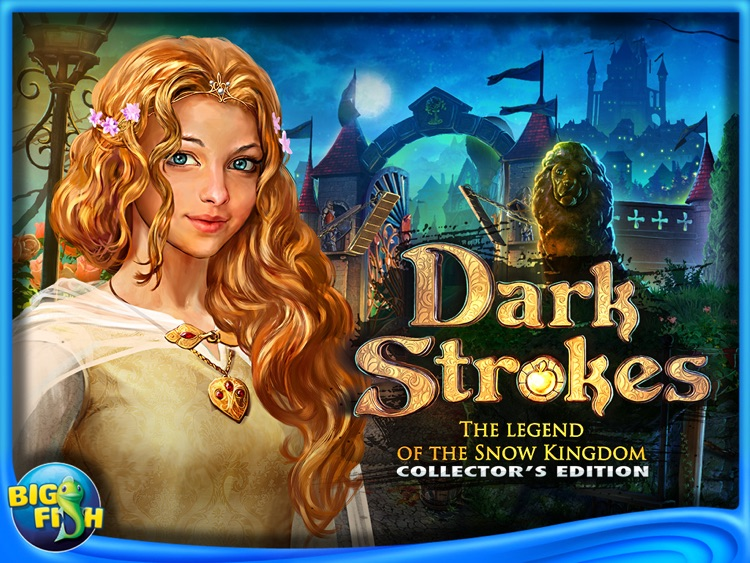 Dark Strokes:  The Legend of the Snow Kingdom HD – A Hidden Object Mystery screenshot-4
