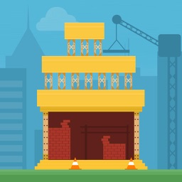 Construction Tower Free - Build By Stacking The Blocks
