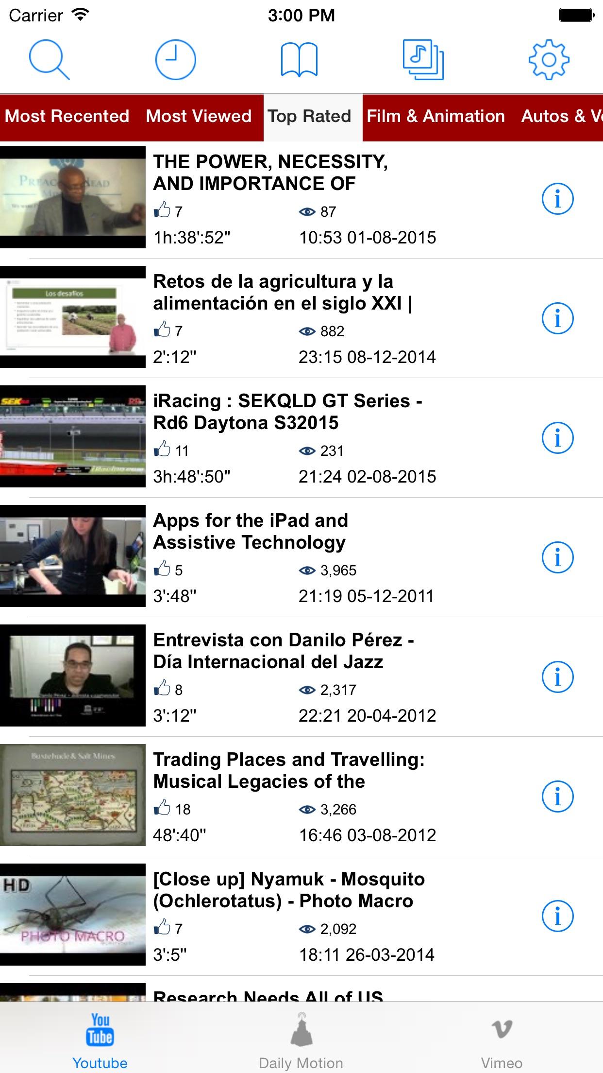 FoxTuber - Video Player Screenshot