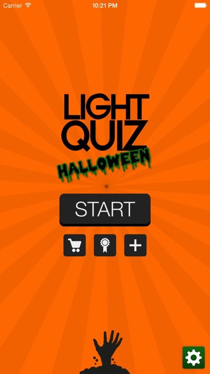 Light Quiz Halloween - Horror movies special!