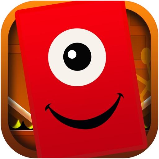 Advanced Techno Square Jump - Geometry Dash Game Free