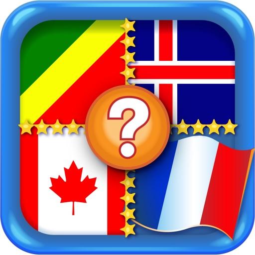 Флагомания - увлекательная игра с флагами и их странами. Флаги стран со всего мира в одном приложении