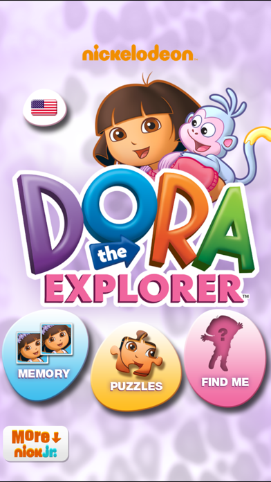Playtime With Dora the Explorer screenshot one