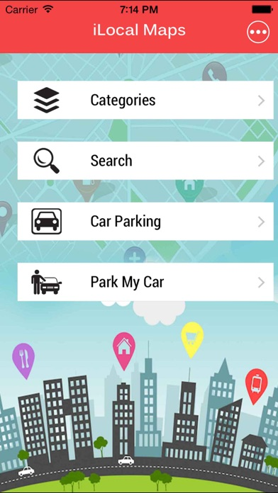 iLocal Maps : Local places,Navigation route, Street View, Public Transit Schedules screenshot one