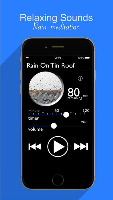Rain Sounds : Natural raining sounds, thunderstorms,