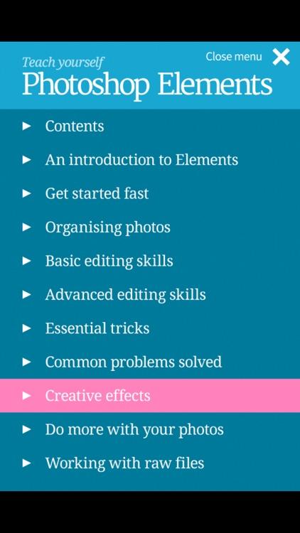 Teach yourself Photoshop Elements screenshot-3