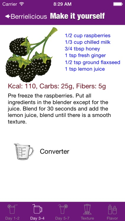 7 Day Fruit Smoothie Cleanser