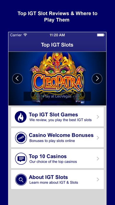 Top IGT Slots - Play the best Vegas slot machine games & get a free online casino bonus-0